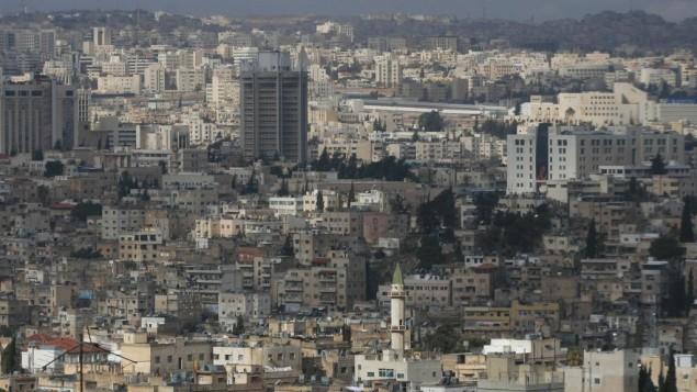 صورة توضيحية للعاصمة الاردنية عمان (بعدسة ناتي شوحاط/ فلاش 90)