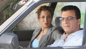 """كلارا خوري وسيد قشوع في برنامج الكوميديا """"شغل عرب"""" (مقدمة من مهرجان الافلام الاسرائيلي)"""