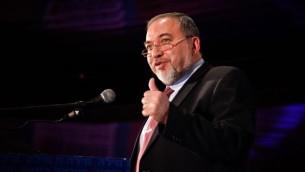 وزير الخارجية الاسرائيلية افيجدور ليبرمان (فلاش 90)