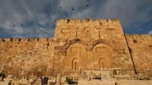 باب الرحمة في القدس والذي يؤدي الى داخل مسجد الاقصى (بعدسة كيرين فريمان/ فلاش 90)