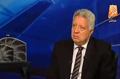 مرشح الرئاسة المصرية المحامي منصور (من شاشة اليوتوب)