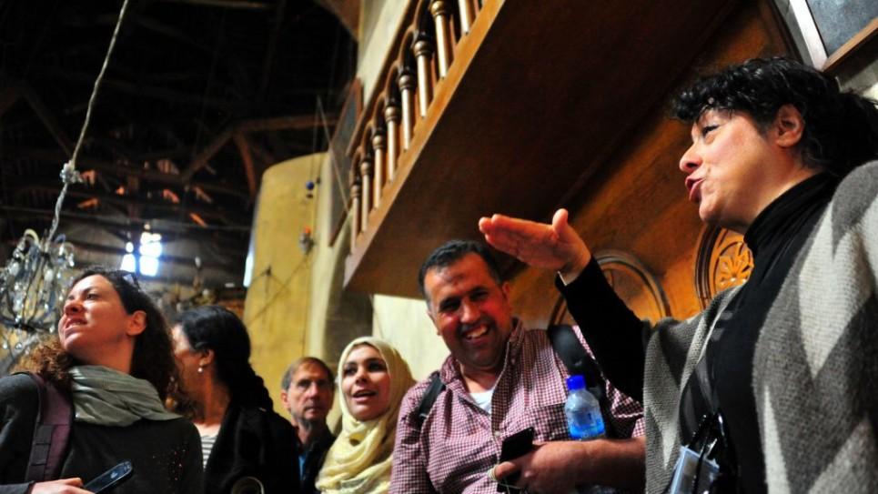 كنسية المهد في بيت لحم (photo credit: copyright/Bruce Shaffer)