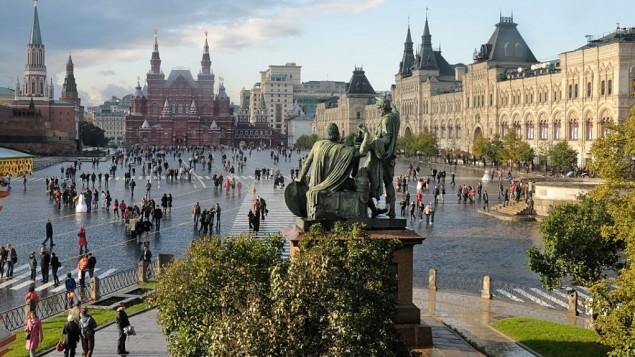 الساحة الحمراء موسكو (Christophe Meneboeuf)