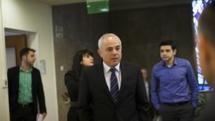 وزير الشؤون الاستراتيجية والعلاقات الدولية يوفال شتاينيتس ٢ فبراير ٢٠١٤ (يوناتان سنايدل/ فلاش ٩٠)