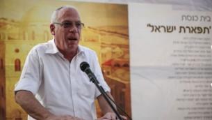 وزير الاسكان اوري اريئيل في القدس (Hadas Parush/Flash90)