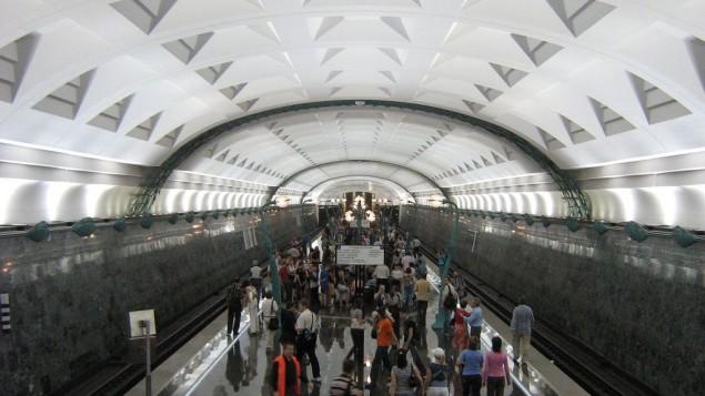محطة الميترو سلافانسكي بولفار في موسكو (Van Elsing.16/Wikipedia)