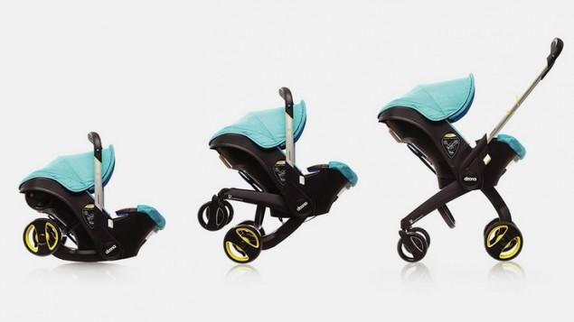 The Doona retractable stroller. (SimpleParenting)