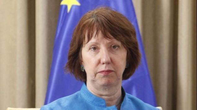 وزيرة خارجية الاتحاد الاوروبي كاثرين اشتون (فلاش ٩٠)