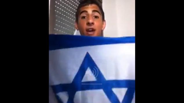 محمد زعبي (من شاشة اليوتوب)