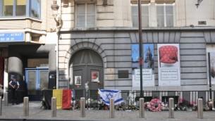 المتحف اليهودي في بروكسل الاحد ٢ يونيو ٢٠١٤ (Surya Jonckheere/Times of Israel)