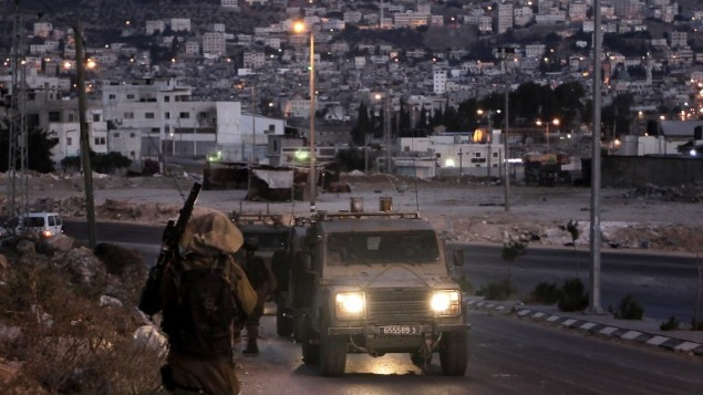 جنود اسرائيليون في نابلس (AFP/JAAFAR ASHTIYEH)