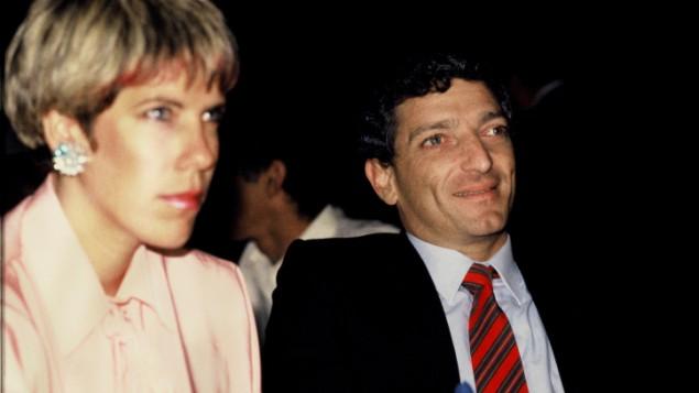 عميرم نير 1985 مع زوجته جودي نير موزس (فلاش90)