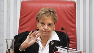 رئيسة محكمة العدل العليا سابقا دوريت بينيش (فلاش ٩٠)