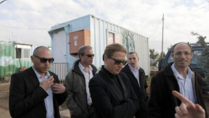تسيبي ليفني زيارة لمستوطنة جفاعوت  في ديسمبر 2012  Lior Mizrahi/ Flash90