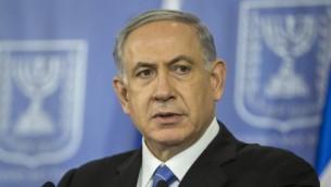 بنيامين نتنياهو في تل ابيب 20 اغسطس 2014   AFP/JACK GUEZ