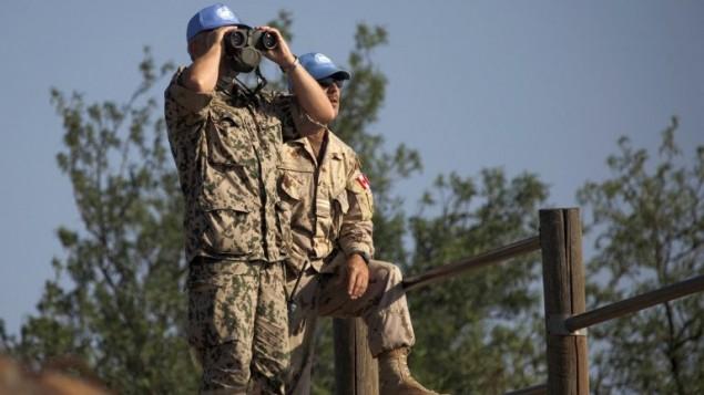 صورة توضيحية لقوات حفظ السلام التابعة للأمم المتحدة (AFP Photo/Jalaa Marey)