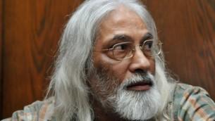 Cult leader Goel Ratzon in court in 2010 (photo credit: Yossi Zeliger/Flash90)
