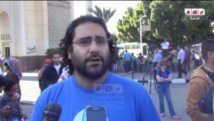 علاء عبد الفتاح (يوتوب/ شبكة رصد)