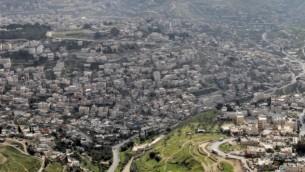 حي سلوان في القدس  Nati Shohat/Flash90