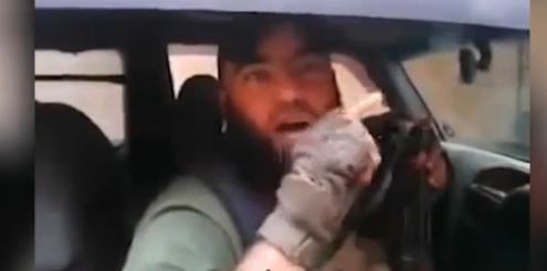 Rabiya Shahade, now thought to be fighting for Islamic State in Syria (screen capture)