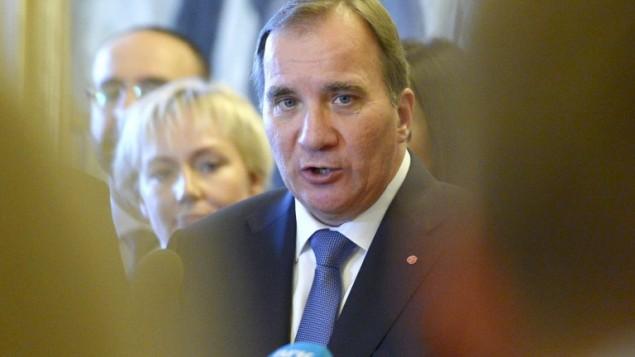 رئيس الوزراء الجديد السويدي ستيفان ليوفن  3 أكتوبر عام 2014 AFP/TT NEWS AGENCY/JANERIK HENRIKSSON