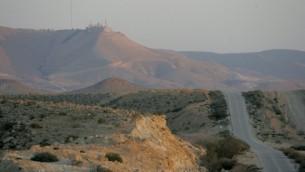 الحدود الاسرائيلية مع مصر، شبه جزيرة سيناء (Moshe Shai/FLASH90)