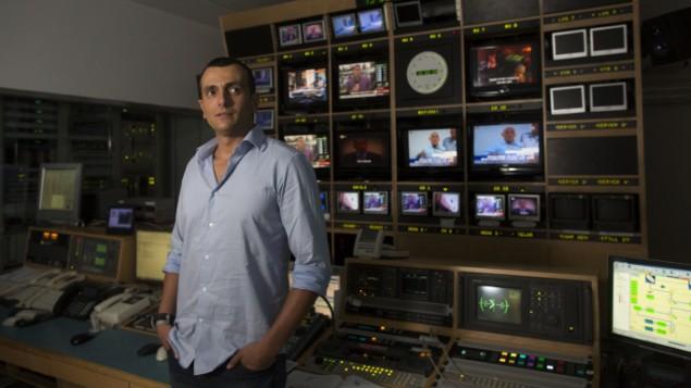 السلطة الثانية للتلفزيون والراديو الرئيس التنفيذي شاي باباد في  القدس  4 ديسمبر 2013  Yonatan Sindel/Flash90