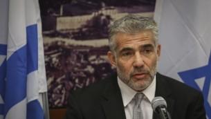 وزير المالية يائير لابيد 20 اوكتوبر 2014  Hadas Parush/Flash90