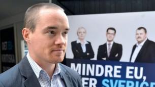 كنت ايكروث، غضو برلمان السويد   CC BY-SA Kent EKEROTH/ WIKIPEDIA