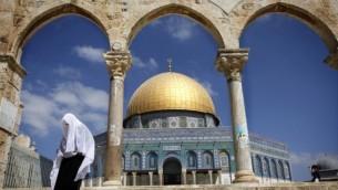 المسجد الاقصى في القدس (Miriam Alster/Flash90)