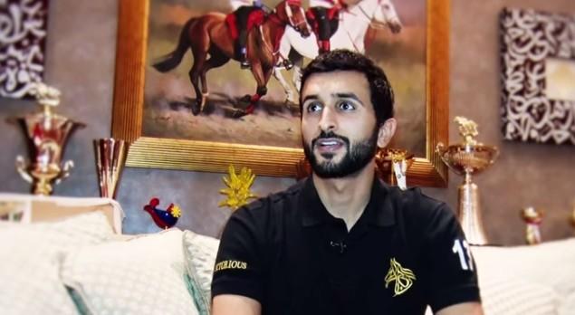 الامير البحريني ناصر بن حمد آل خليفة  (من شاشة اليوتوب)