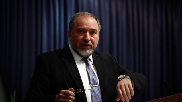 وزير الخارجية افيجدور ليبرمانو يناير 2014 (فلاش 90)