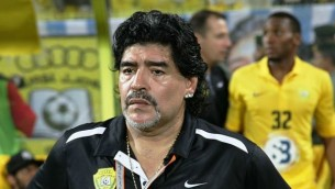 Diego Armando Maradona in 2012 (Photo credit: Wikimedia Commons, CC BY 2.0, Neogeolegend)