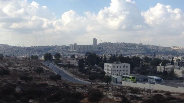 حي جيفعات هاماتوس في القدس   Joshua Davidovich/Times of Israel)