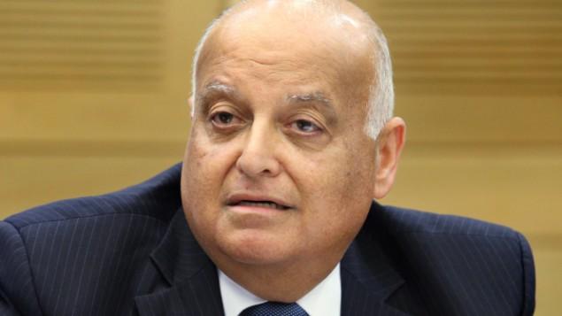 قاضي محكمة العدل العليا سليم جبران Isaac Harari/FLASH90