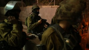 صورة توضيحية، حنود في الجيش الاسرائيلي، 5 نوفمبر 2014. Nati Shohat/Flash90