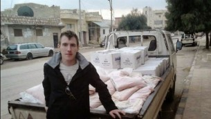 عامل الاغاثة الامريكي بيتير كاسينج  AFP/Kassig Family handout