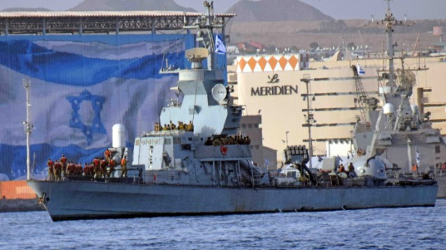 The INS Hanit enters Eilat on Saturday, March 08, 2014. (photo credit: Yuda ben Yitach/Flash90)