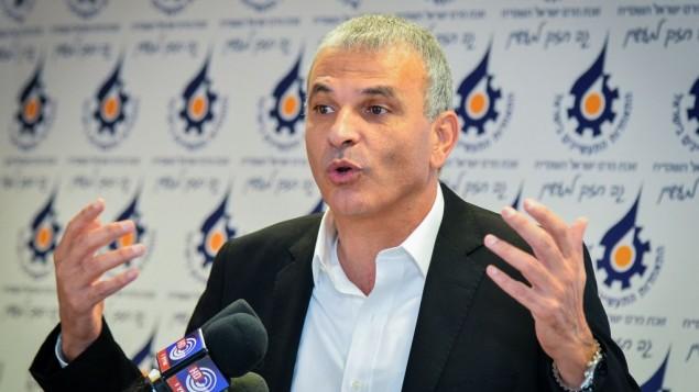 موشيه كحلون في تل ابيب 2 ديسمبر 2014 (فلاش 90)