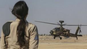 صورة توضيحية جندية في الجيش الاسرائيلي  (فلاش 90)