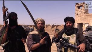 مقاتلو الدولة الاسلامية Youtube screenshot/ ViceNews