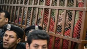 صورة توضيحية لمعتقل مصري ( AFP PHOTO / MOHAMED EL-SHAHED)