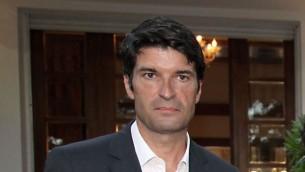 السفير الفرنسي باتريك ميزوناف (Gideon Markowicz/Flash90)