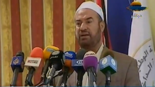 فتحي حماد وزير داخلية حماس image capture from YouTube video uploaded by Middle East Info