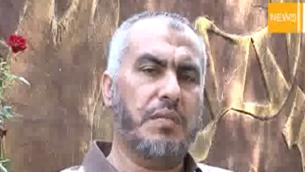 غازي حمد (من شاشة اليوتوب)