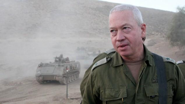 الميجور جنرال يوئاف غلانت (فلاش 90)