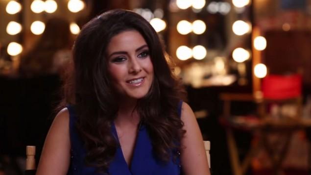 ملكة جمال لبنان سالي جريج (screen capture: YouTube/Miss Universe)