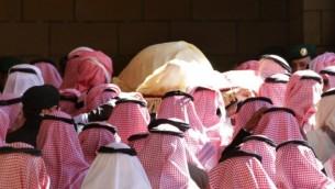 جنازة الملك السعودي الراحل عبد الله بن عبد العزيز 23 يناير 2015AFP/STR