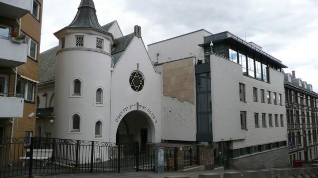 الكنيس بشارع بيرغشتاين في اوسلو (CC BY Metro Centric, Flickr)