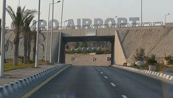 مدخل مطار القاهرة الدولي (Ad Meskens/Wikimedia Commons/File)
